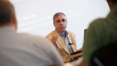 Environmental Economist Robert Stavins Speaks