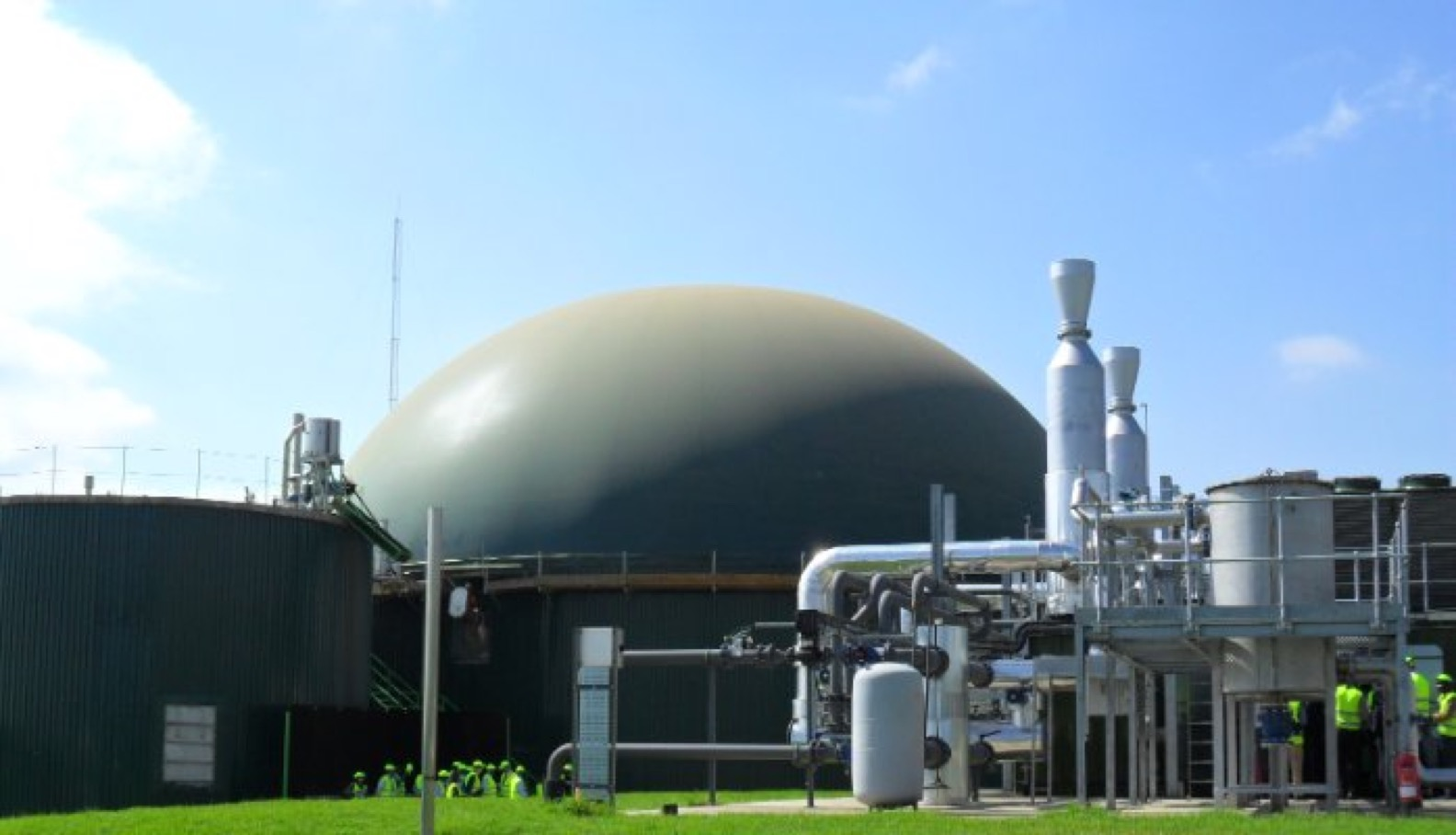 Africa's first grid-connected biogas power plant comes